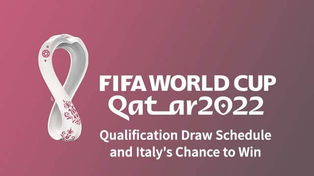 2022 World Cup Qualification Draw Schedule and Italy's Chance to Win
